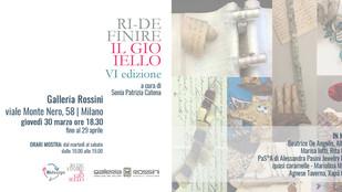Premio Rossini: dal 30 marzo al 29 aprile in galleria gli otto vincitori provenienti da Ridefinire i