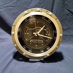 Porsche Flywheel Clock