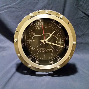 Porsche Flywheel Clock