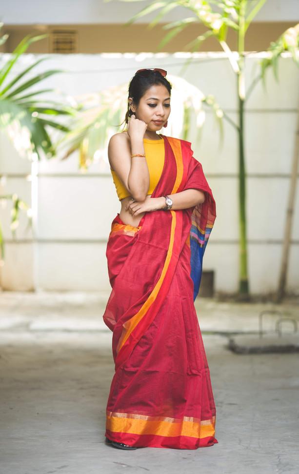 Red Cotton Silk Saree.jpg
