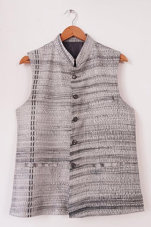Shibori Silk Jacket