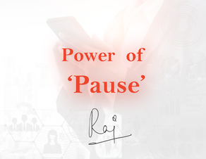 Power of 'Pause'