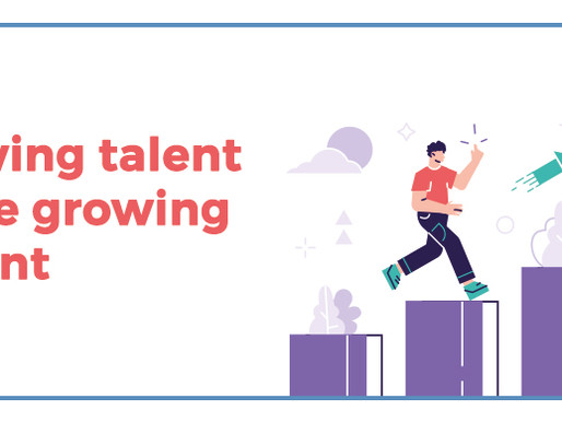 Growing talent is like growing a plant
