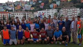Üniversiteli Atletlerimizi Samsun 1. Lig Yarışlarında Destekledik!