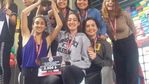 Boğaziçi Üniversitesi Spor Kulübü Kadın takımı TAF Kupası'nda 3. oldu