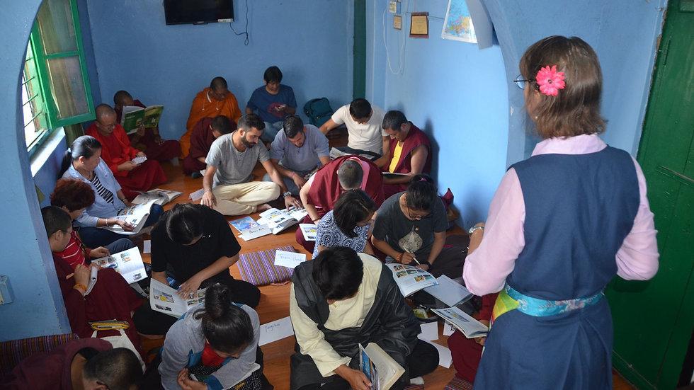 Volunteer for Tibetan refugees in Dharamshala, Himachal Pradesh