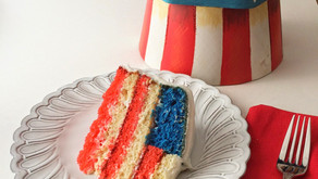 """Cooking Through """"The Baker's Man"""": American Flag Cake"""