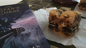 Cooking Through Fiction: Percy's Ambrosia Brownies