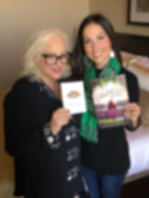 Author Jennfer Moorman, Bedside Reading Jane Ubell-Myer Mandorin Oriental NYC