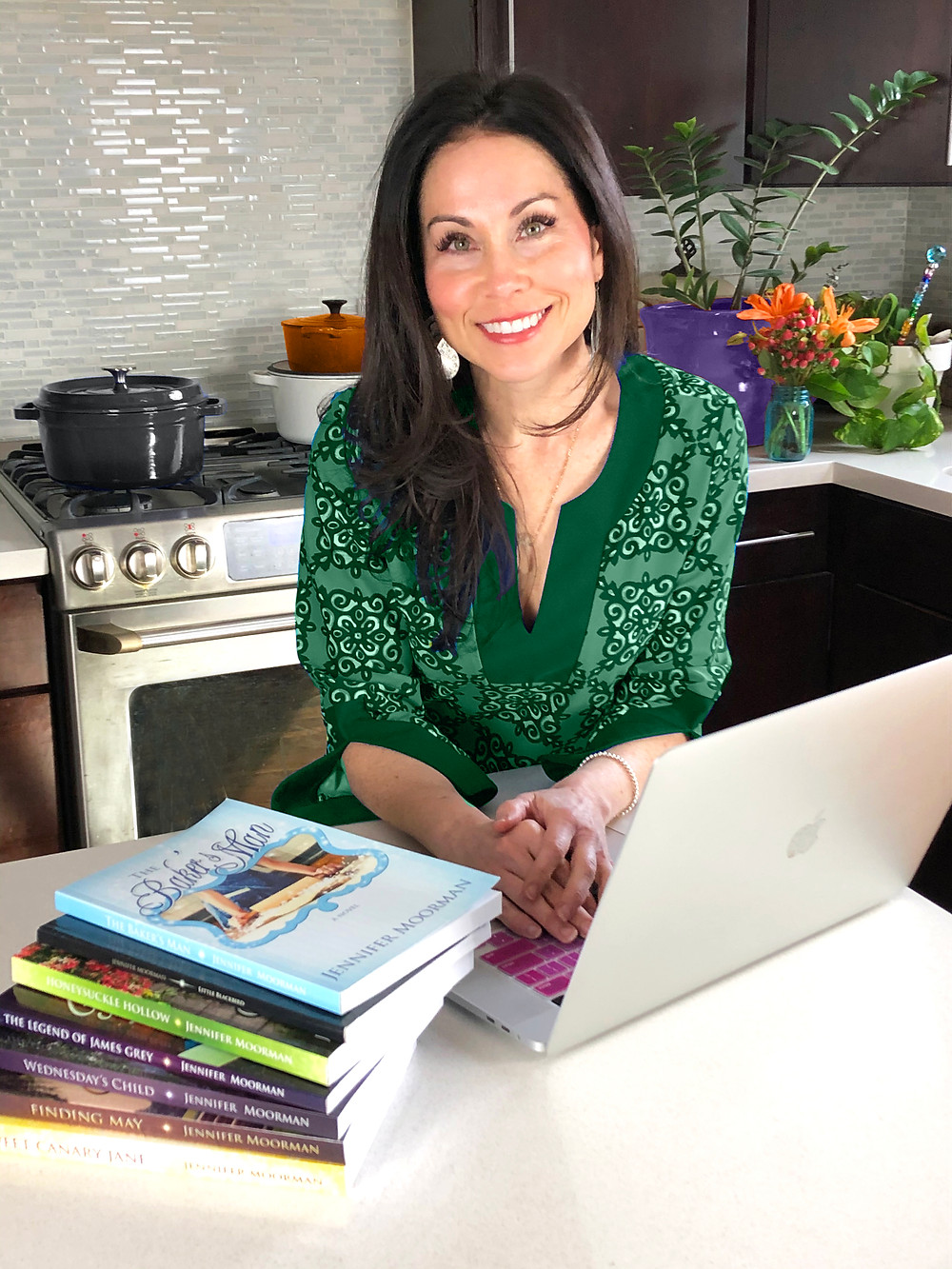 Author Jennifer Moorman Baking Class
