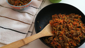 Cooking Through Fiction: Levi's Carrot-Apple Hash