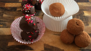 """Cooking Through """"The Baker's Man"""": Mexican Chocolate Truffles"""