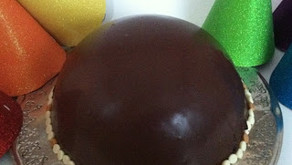 "Cooking Through ""The Baker's Man"": Chocolate Caramel Bombe"