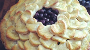 "Cooking Through ""The Baker's Man"": Blueberry Pie"