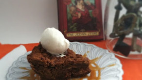 Cooking Through Fiction — Simon's Butterscotch Toffee Skillet Cookie