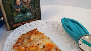 Cooking Through Fiction: The Nixie's Song — Nick's Buffalo Chicken Pizza