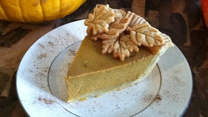"Cooking Through ""The Baker's Man"": Spice-Kissed Pumpkin Pie"