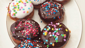 Cooking Through The Baker's Man: Chocolate Hazelnut & Peanut Butter Cream Donuts