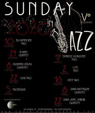 Calendario Sunday in Jazz 5° Edizione 2019/2020