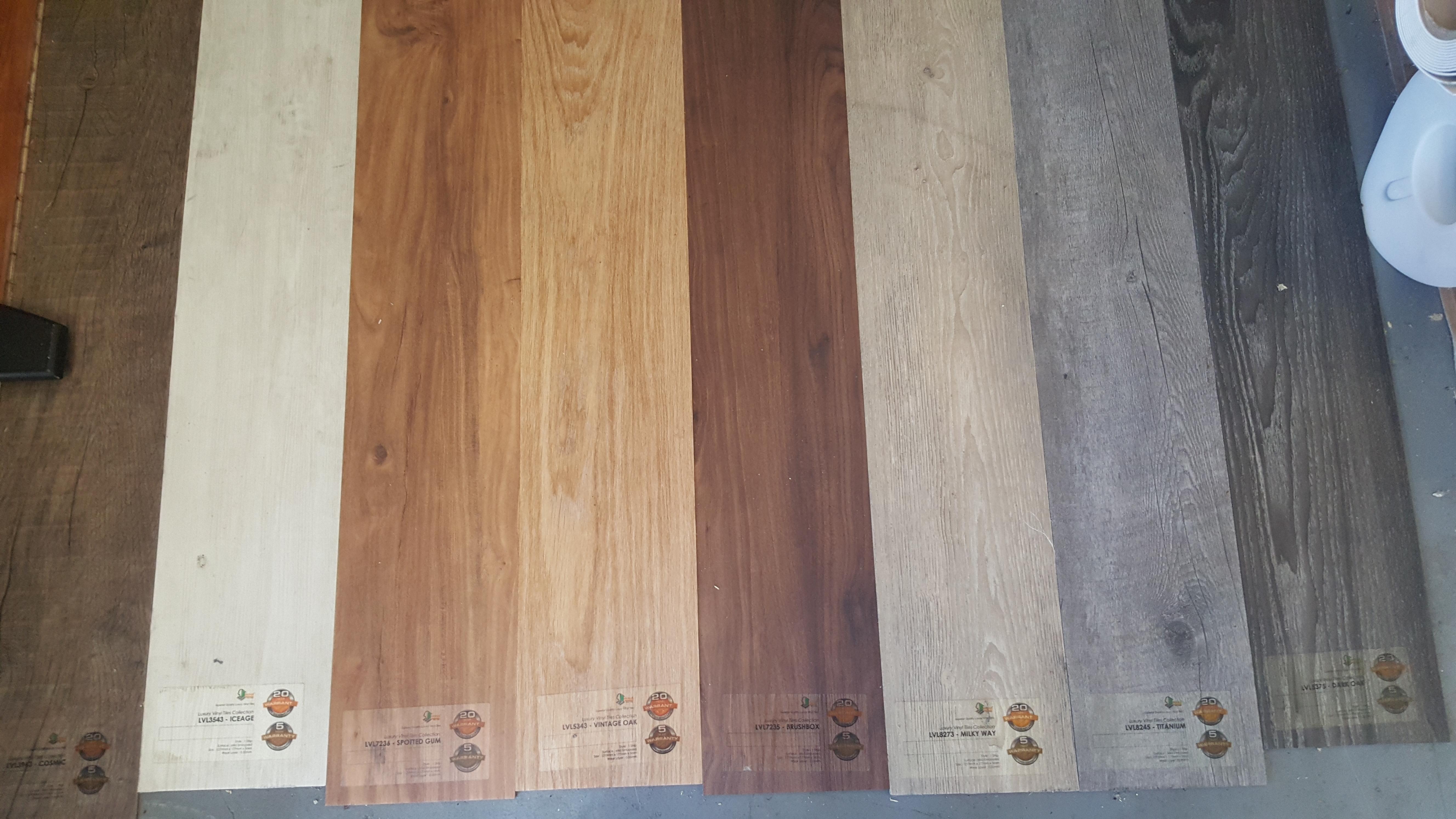 Inovars Looselay Vinyl Plank Collection