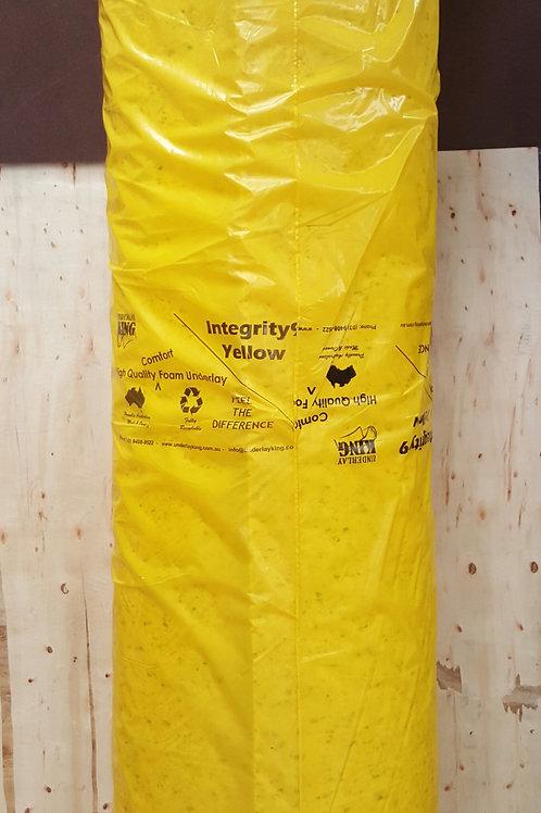 Heavy Luxury Carpet Underlay (gold) - 1 Roll