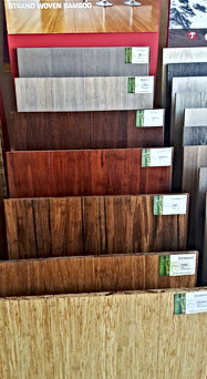 Bamboo Floor Sample