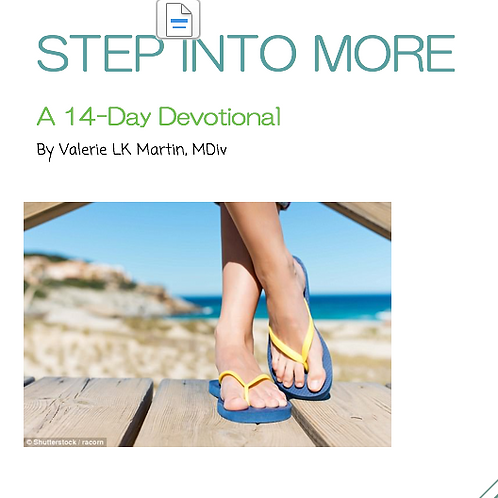 Step Into More- a 14-day devotional