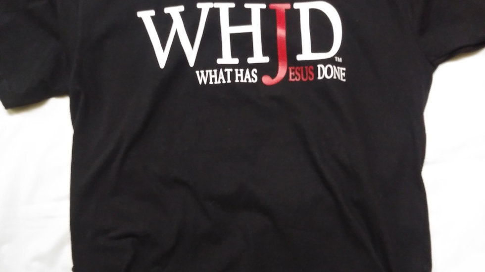 WHJD Cotton T-shirt.