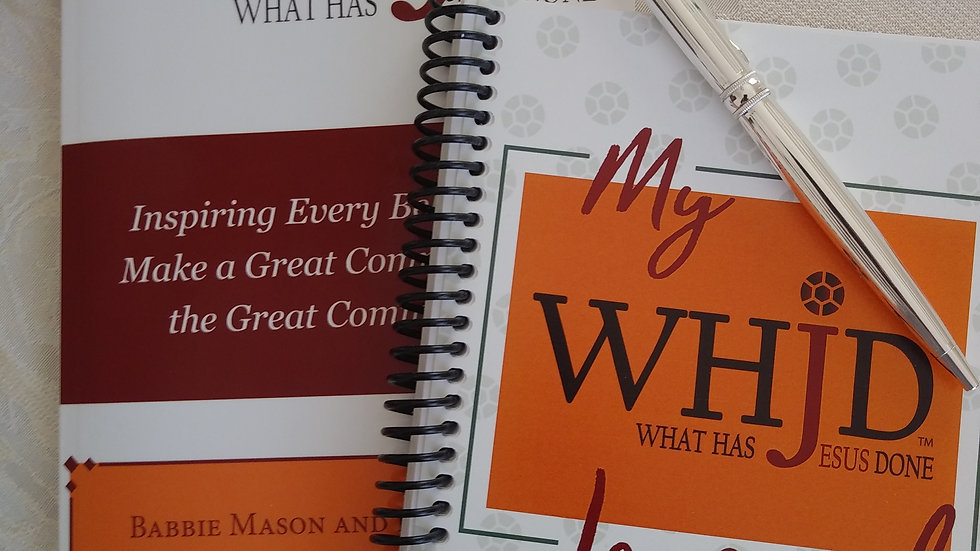 WHJD - Book and Journal Combo