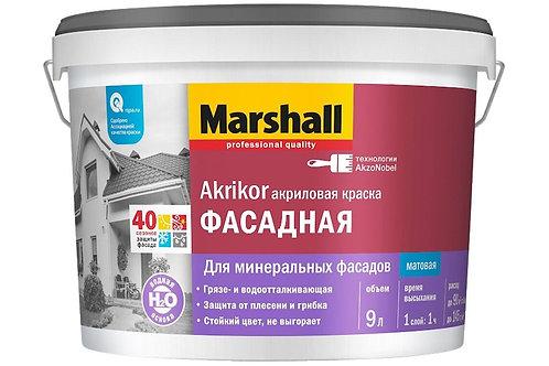 Краска фасадная Marshall Akrikor матовая