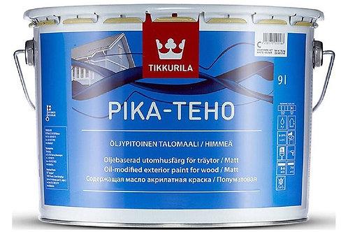 Краска фасадная Tikkurila Pika-Teho матовая колеруемая