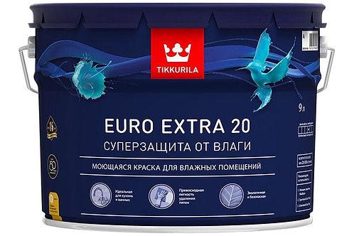Tikkurila Euro Extra 20 полуматовая