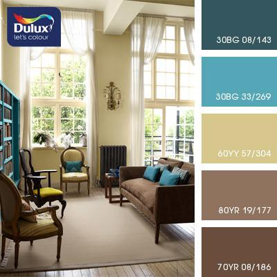 Цветовая палитра Дулюкс