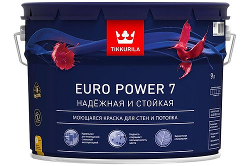 Tikkurila Euro Power 7 матовая колеруемая