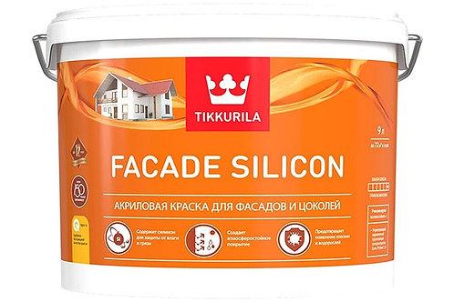 Tikkurila Facade Silicon глубокоматовая