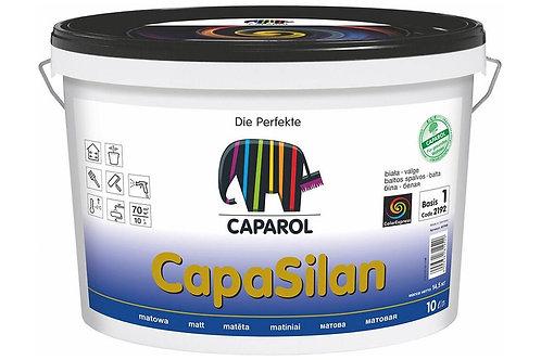Краска интерьерная Caparol CapaSilan глубокоматовая белая