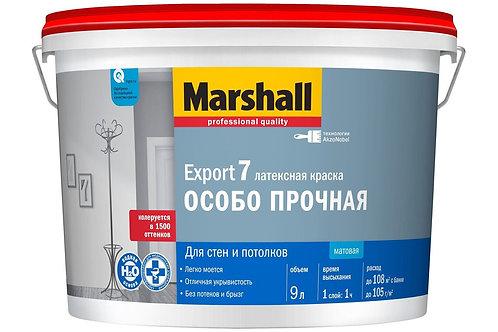 Краска интерьерная Marshall Export-7 матовая