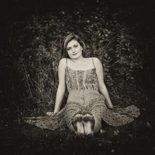 Julia, graduation portrait