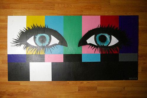"""""""Stare"""" 2016 Original Artwork"""
