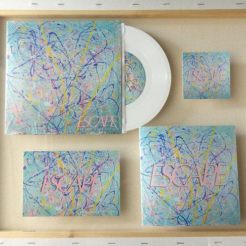 """Escape EP 7"""" White Vinyl Record"""