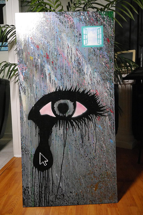 """""""The Eye Is The Window To The Soul"""" 2016 Original Artwork"""