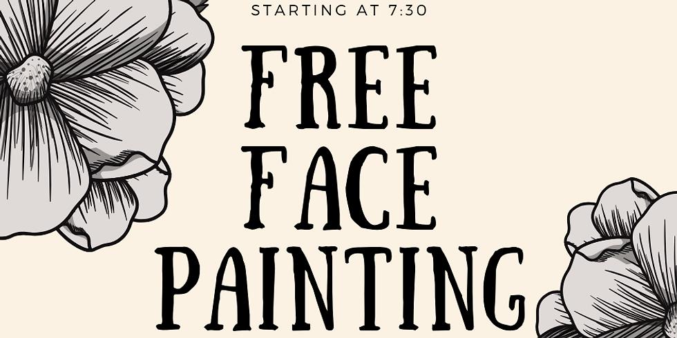 Dia de los Muertos Face Painting Sponsored by Modelo
