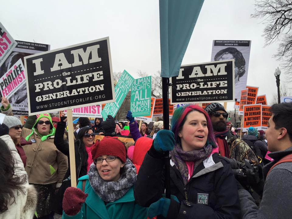 Youth at the March for Life