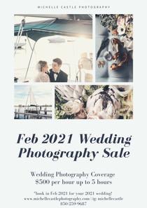2021 Micro Wedding Special!!!