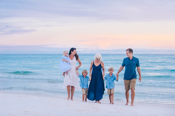 30A Family Beach Portraits