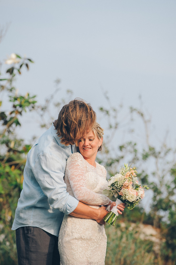Laura + Arin | 30A Wedding | Intimate Family Wedding