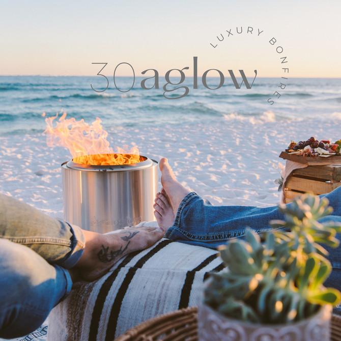 30aglow | luxury bonfires | 30A Commercial Photographer