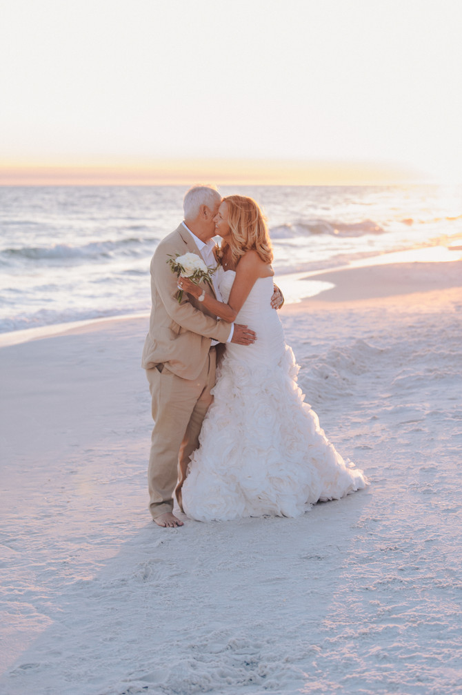 50th Wedding Anniversary-Vowel Renewal | Tripple Crown | Seagrove Beach FL