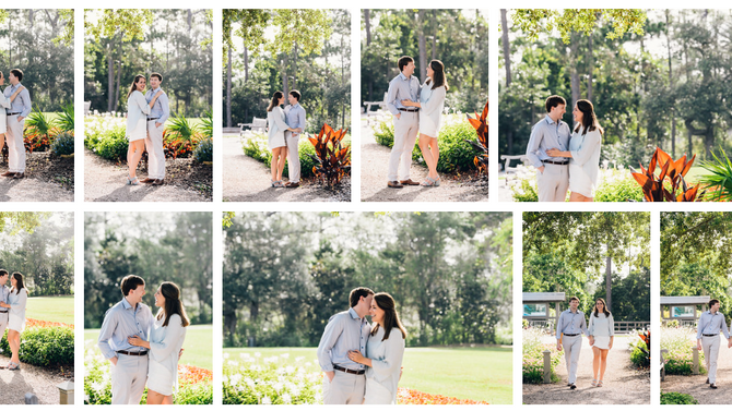 Rosemary Beach | Watercolor | 30A Engagement Session