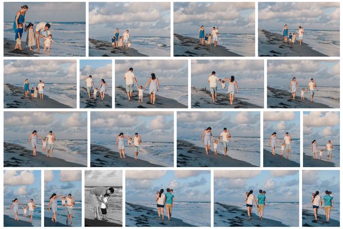 Sunset Beach Portraits